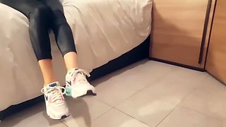 Pantyhose feet soles