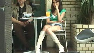 Crazy Japanese whore in Exotic Compilation, Car JAV clip