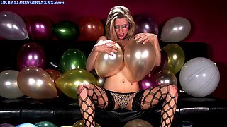 michelle moist balloon fun