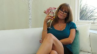 Cougar Darla Crane fucks her handsome young stepson