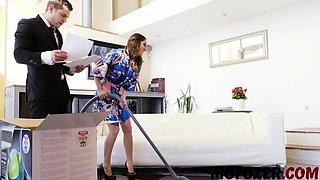 Jimena Lago In Housewife Seduces Salesman