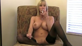Mommy smoking