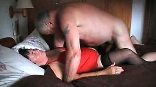 Grandpa and grandma 67 years old - cum inside