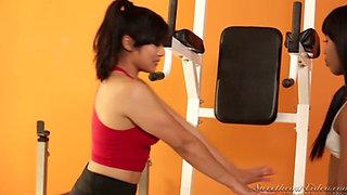 Sarah Banks+Mia Li=A very personal trainer