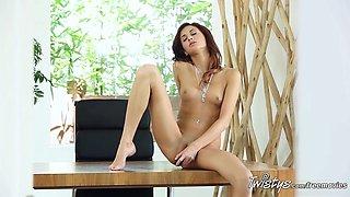 Crazy pornstar in Hottest Fingering, Solo Girl adult clip