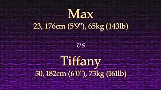 tiffany vs max mixed wrestling