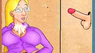 Glory Hole! Animation cartoon!