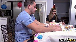 holly celebrates birthdays her way