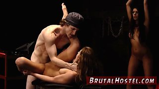 Captured in slavery bondage Two youthfull sluts Sydney Cole and Olivia Lua our down