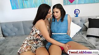 teen violet starr gets fucked by a milf before graduation