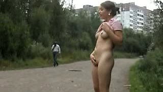 Public Flashing on the Road