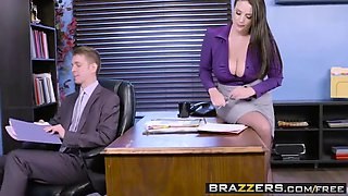big tits at work -  my slutty secretary scene starring angel