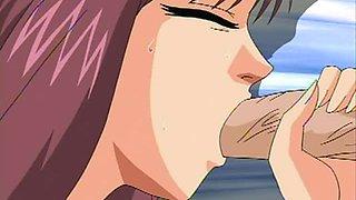 Keraku No Oh 1 - Horny Manga Babes Get Fucked in an Animated Orgy