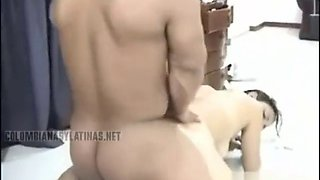Colombian girl fuck midget 2