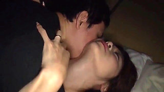 Sleeping Japanese babe groped and fucked