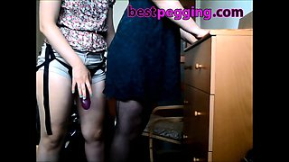 Amateur Wife Pegging Crossdresser Husband