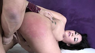 Cum-loving babe with pierced nipples Dani Jensen