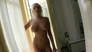 Smoking hot blonde gets fucked
