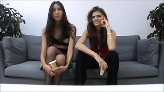 Darya Malygina lesbian french tongue kissing