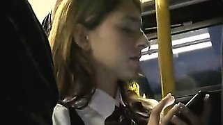 Young wife gets groped on the bus 1 - More On HDMilfCam.com