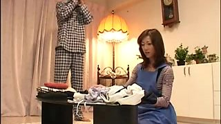 Japanese slut cheating on her husband