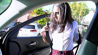 DadCrush - Teen Schoolgirl Fucked By Angry Stepdad