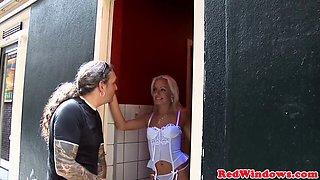 amsterdam prostitute rides tourists cock