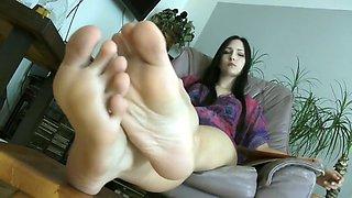 Enjoy Her Perfect Feet