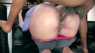 Animated big booty anal