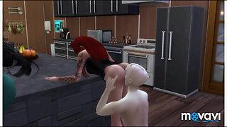 Sims 4 sex mix