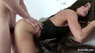 Sexy Step-Mom Seduce Big Dick Step-Son to Fuck When Dad away