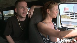 extra hot sex in car with a cutie segment video 1