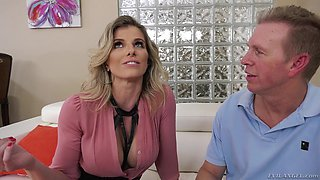 Cory Chase is a chick with nice tits who cannot resist an anal fuck