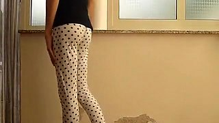 Jessykyna crossdresser leggings white
