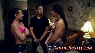Mixed bondage wrestling xxx Best buddies Aidra Fox and