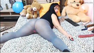 Big ass bbw pantyhose heels
