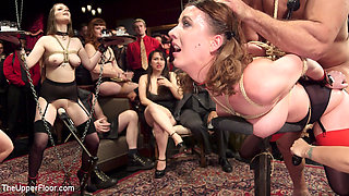 Ramon Nomar & Aiden Starr & Cherry Torn & Nora Riley in The Final Upper Floor Orgy P. 1 - TheUpperFloor