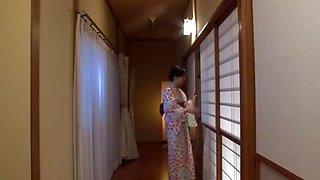 Japanese stepmom yoshie fucked hard by her son !!