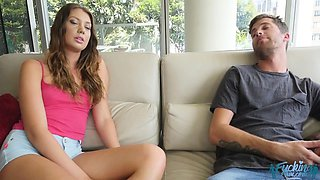 Elena Koshka in Grounded with Brother