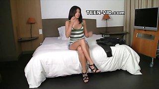 18yo teen first casting
