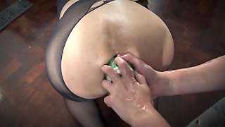 Extreme anal insertion 2