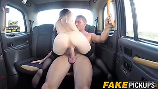 gorgeous taxi driving milf wants to fully please her client