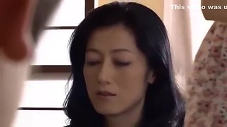 Japanese stepmom yoshie fucked hard by her son !!