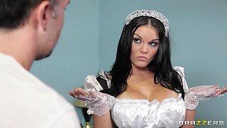 Lustful Big Boobs Maid
