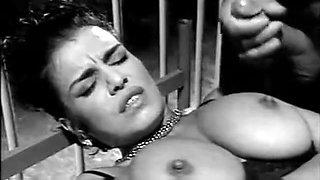 Black and white classic porno
