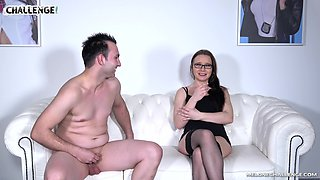 Brunette MILF Wendy Moon rides a cock and gets her pussy licked