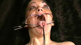 face punished mature slave chinas sadomasochis dental gagged