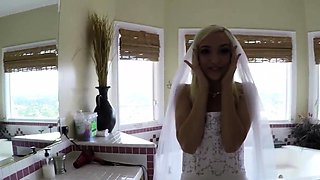 Teen bride ass spermed