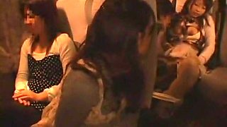 Love Saotome, Reon Otowa, Arisu Suzuki in Night Bus to Tokyo part 3