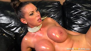 Oily Anal On The Couch